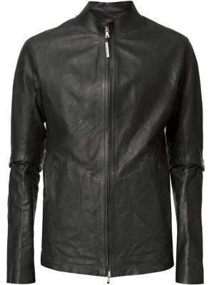 Куртка с воротником-стойкой Isaac Sellam Experience. Цвет: чёрный