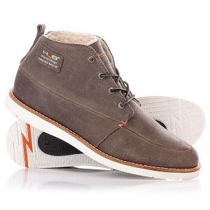 Ботинки зимние  Jensen Grey/White Hub. Цвет: серый