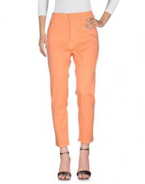 Джинсовые брюки CYCLE. Цвет: абрикосовый