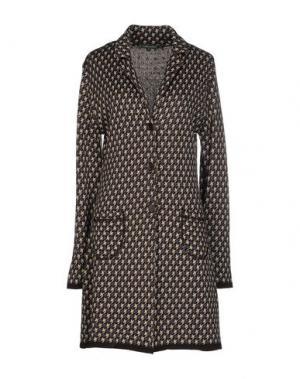 Легкое пальто LA FEE MARABOUTEE. Цвет: грифельно-синий