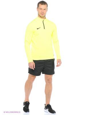 Лонгслив ACADEMY MIDLAYER TOP Nike. Цвет: синий, желтый