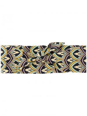 Ободок для волос с орнаментом Ca&Lou. Цвет: многоцветный