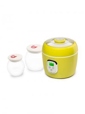 Йогуртница-ферментатор. OURSSON. Цвет: зеленый