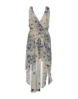 Короткое платье RARE LONDON. Цвет: бежевый