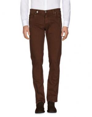 Повседневные брюки NICWAVE. Цвет: коричневый
