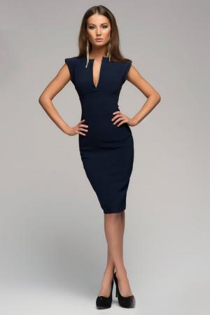 Платье-футляр 1001dress. Цвет: синий