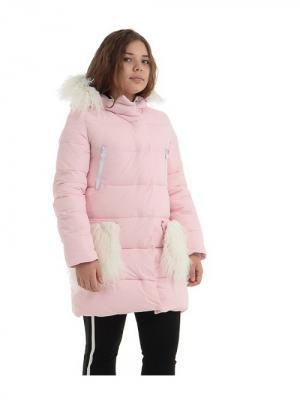 Пальто TOPKLAER. Цвет: розовый