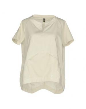 Блузка EUROPEAN CULTURE. Цвет: бежевый