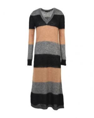 Платье длиной 3/4 .TESSA. Цвет: верблюжий