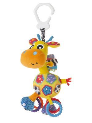 Подвеска Жираф Playgro. Цвет: желтый, красный, оранжевый