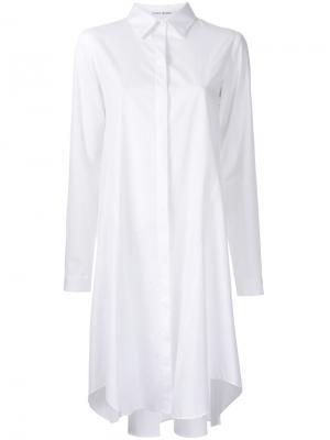 Платье-рубашка Lewis Bianca Spender. Цвет: белый