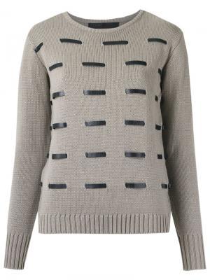 Knit sweater Uma   Raquel Davidowicz. Цвет: серый