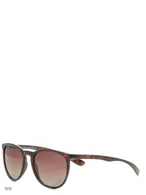 Очки Franco Sordelli. Цвет: коричневый