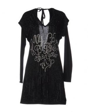 Короткое платье GAI MATTIOLO JEANS. Цвет: черный