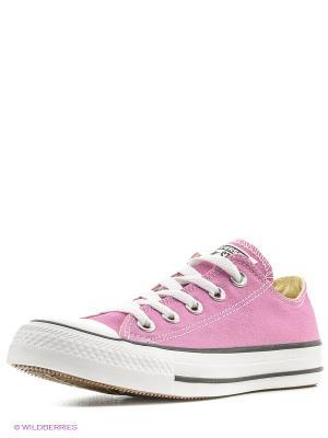 Chuck Taylor All Star Converse. Цвет: розовый