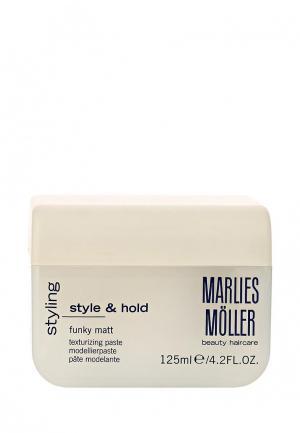 Паста для укладки Marlies Moller. Цвет: белый