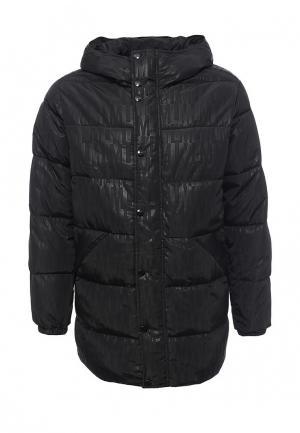 Куртка утепленная Love Moschino. Цвет: черный