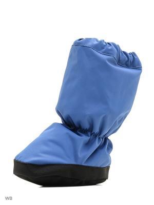 Пинетки Reima. Цвет: голубой