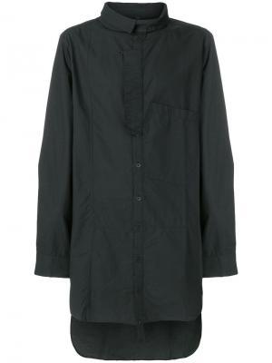 Удлиненная рубашка Barbara I Gongini. Цвет: чёрный
