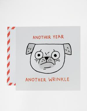 OHH DEER Поздравительная открытка Gemma Correll для. Цвет: мульти