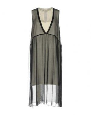 Платье до колена ALYSI. Цвет: черный