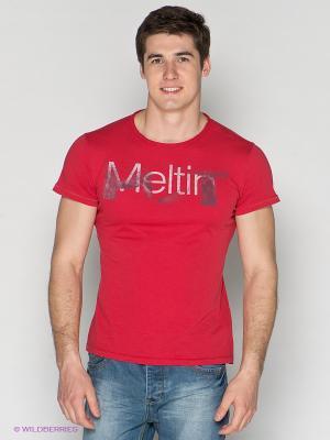 Футболка Meltin'Pot. Цвет: красный