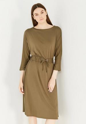 Платье LOST INK. Цвет: зеленый