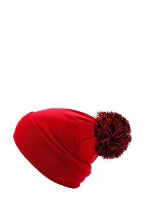 Шапка New Era. Цвет: красный