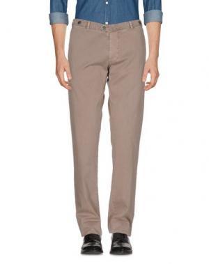 Повседневные брюки MACCHIA J. Цвет: голубиный серый