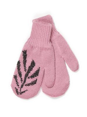 Варежки ЕМАЕ. Цвет: розовый