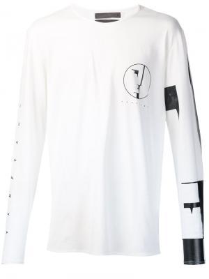 Longsleeved T-shirt Siki Im. Цвет: белый