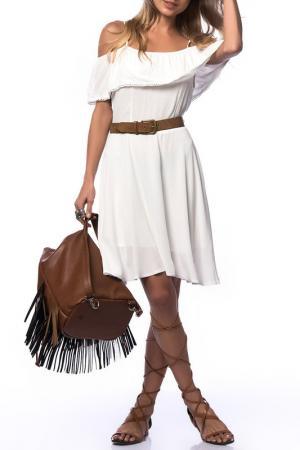 Платье Dilvin. Цвет: белый
