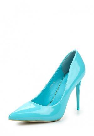 Туфли Style Shoes. Цвет: голубой