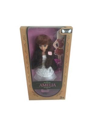 Кукла Amelia S-S. Цвет: белый, коричневый