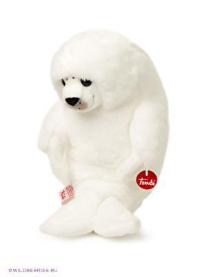 Белый тюлень TRUDI. Цвет: белый