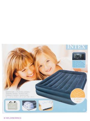 Надувной матрас-кровать Intex. Цвет: черный