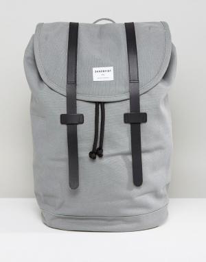 Sandqvist Серый рюкзак Stig. Цвет: серый