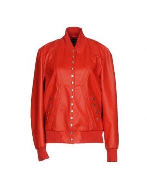 Куртка BRUNO BORDESE. Цвет: красный