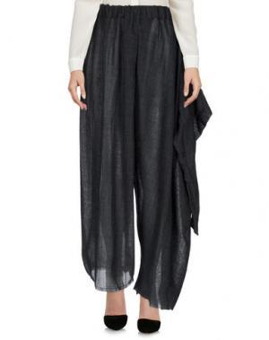 Повседневные брюки UN-NAMABLE. Цвет: стальной серый