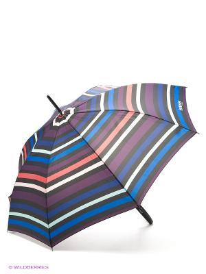Зонт Isotoner. Цвет: синий, розовый, фиолетовый