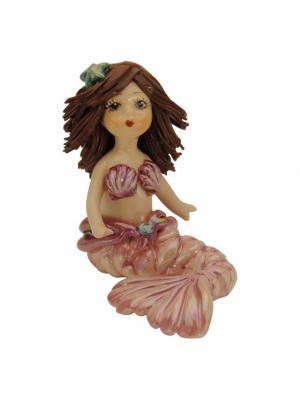 Статуэтка Русалочка Zampiva. Цвет: коричневый, розовый