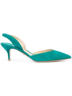 Туфли-лодочки Rhea Paul Andrew. Цвет: зелёный