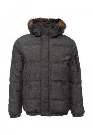 Куртка утепленная Trussardi Jeans. Цвет: серый