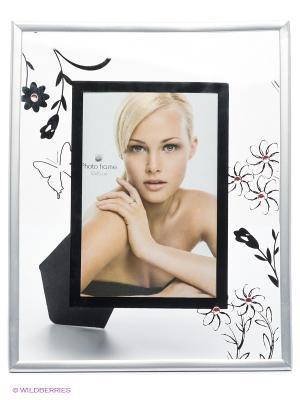 Фоторамка Floral 3 VELD-CO. Цвет: черный