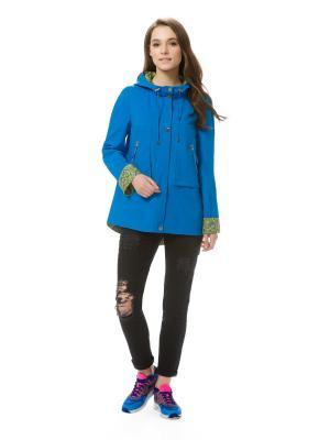 Куртка женская Elema. Цвет: голубой