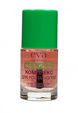 Средство по уходу за ногтями Eva Mosaic. Цвет: розовый