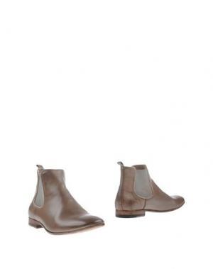 Полусапоги и высокие ботинки SARTORI GOLD. Цвет: хаки