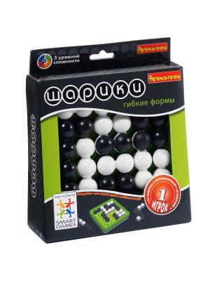 Логическая игра Bondibon Шарики, гибкие формы, арт. SG 450 RU. Цвет: белый, черный