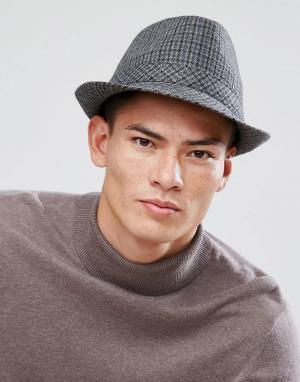 Boardmans Фетровая шляпа Chris. Цвет: серый