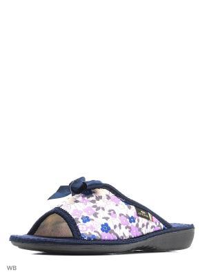Тапочки Spesita. Цвет: лиловый